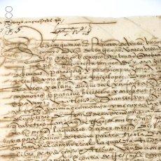 Manuscritos antiguos: ANTIGUO MANUSCRITO . Lote 195851688