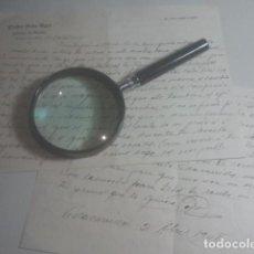 Manuscritos antiguos: VILLACARRILLO, JAÉN - PEDRO SÁEZ AGEA - FÁBRICA DE ACEITES - LOTE DE CORRESPONDENCIA - 1948. Lote 196227462