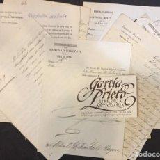 Manuscritos antiguos: SANIDAD MILITAR DE LA ISLA DE CUBA 1877 NOTIFICACION DE CONDECORACIONES A JOAQUIN CORTES BAYONA. Lote 196920811