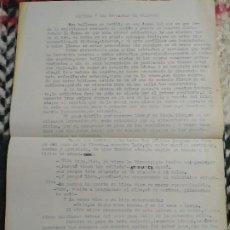 Manuscritos antiguos: SEVILLA Y LAS COFRADÍAS DE SILENCIO. PREGÓN. MANUEL SÁNCHEZ MANTERO.. Lote 197148696
