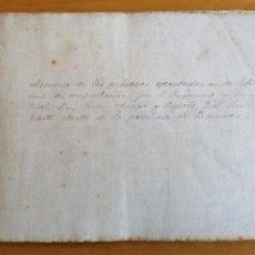 Manuscrits anciens: MEMORIA DE LAS PRACTICAS DEL FIEL CONTRASTE ELECTO DE LA PROVINCIA DE ZAMORA. JUAN AMIGÓ ROJALS.1895. Lote 197619767
