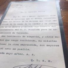 Manuscritos antiguos: FIRMA DE ANTONIO MAURA, PRESIDENTE CONSEJO MINISTROS. 1904. NOMBRAMIENTO NOZALEDA PARA VALENCIA.. Lote 198085108