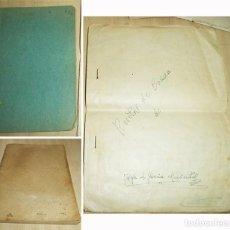 Manuscritos antiguos: MAS DE 80 RECETAS DE COCINA CASERAS MANUSCRITAS DE PRINCIPIOS DEL S XX 2 CUADERNOS Y HOJAS. Lote 198759123