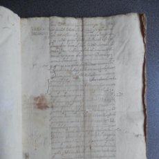 Manuscritos antiguos: LOTE 4 MANUSCRITOS AÑO 1689 CON 27 FISCALES 4ºS CABRA CÓRDOBA MAYORAZGO SEGOVIA 67 PÁGINAS. Lote 199076530