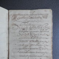 Manuscritos antiguos: MANUSCRITO AÑO 1599 TORMOS ALICANTE EXTENSO CENSAL EN FAVOR DEL NOBLE GASPAR RIBOT 20 PÁGINAS. Lote 199078195