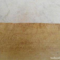 Manuscritos antiguos: PERGAMINO XVI. Lote 199510945