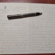 Manuscritos antiguos: NICETO ALCALÁ ZAMORA CARTA MANUSCRITA Y FIRMADA 1913 DIPUTADO POR LA CAROLINA.. Lote 199634180
