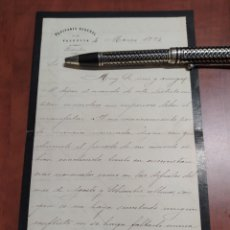 Manuscritos antiguos: CAPITÁN GENERAL DE CUBA MANUEL DE SALAMANCA Y NEGRETE 1831- 1890. Lote 199636905
