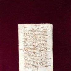 Manuscritos antiguos: VENTA DE UNA VIÑA EN TÉRMINO DE PLASENCIA (CÁCERES) POR UN MESONERO A SU YERNO CANTERO 1561. Lote 199656342