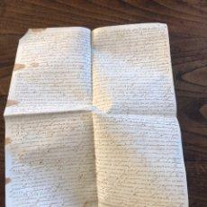 Manuscritos antiguos: PERGAMINO DE MALLORCA SIGLO XVI - 1589. Lote 199704706