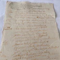 Manuscritos antiguos: LUIS I 1724. Lote 199708043