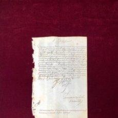 Manuscritos antiguos: EL REY FELIPE II SOBRE LA ARMADA INVENCIBLE. FIRMA DEL REY 1587. Lote 189607118