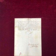 Manuscritos antiguos: EL REY FELIPE IV SOBRE GENTE DE MAL VIVIR EN TOLEDO. FIRMA DEL REY 1627. Lote 189607165