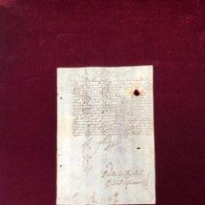 Manuscritos antiguos: EL REY FELIPE IV AL CORREGIDOR DE TOLEDO SOBRE PAGO DE ALCABALAS. FIRMA DEL REY 1626. Lote 191368678