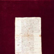 Manuscritos antiguos: VALOR DE LA ENCOMIENDA DE LOPERA (JAÉN) - 1631. Lote 192351746