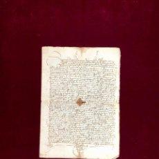 Manuscritos antiguos: DOCUMENTO OTORGADO POR UN VECINO DE SALAMANCA EN 1504. Lote 189746295