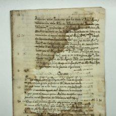 Manuscritos antiguos: DOCUMENTO MANUSCRITO CENSOS Y LAUDEMIOS AÑO 1763 IGUALADA CATALUÑA. Lote 200031186