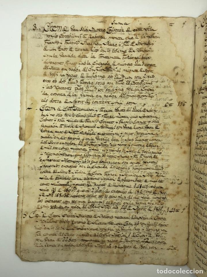 Manuscritos antiguos: Documento manuscrito compra-venta año 1801 - Foto 2 - 200073278