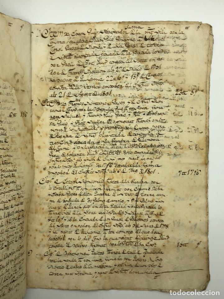 Manuscritos antiguos: Documento manuscrito compra-venta año 1801 - Foto 3 - 200073278