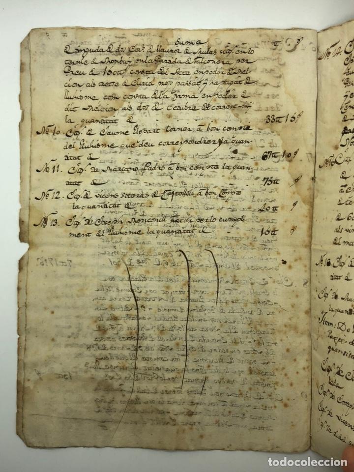 Manuscritos antiguos: Documento manuscrito compra-venta año 1801 - Foto 4 - 200073278