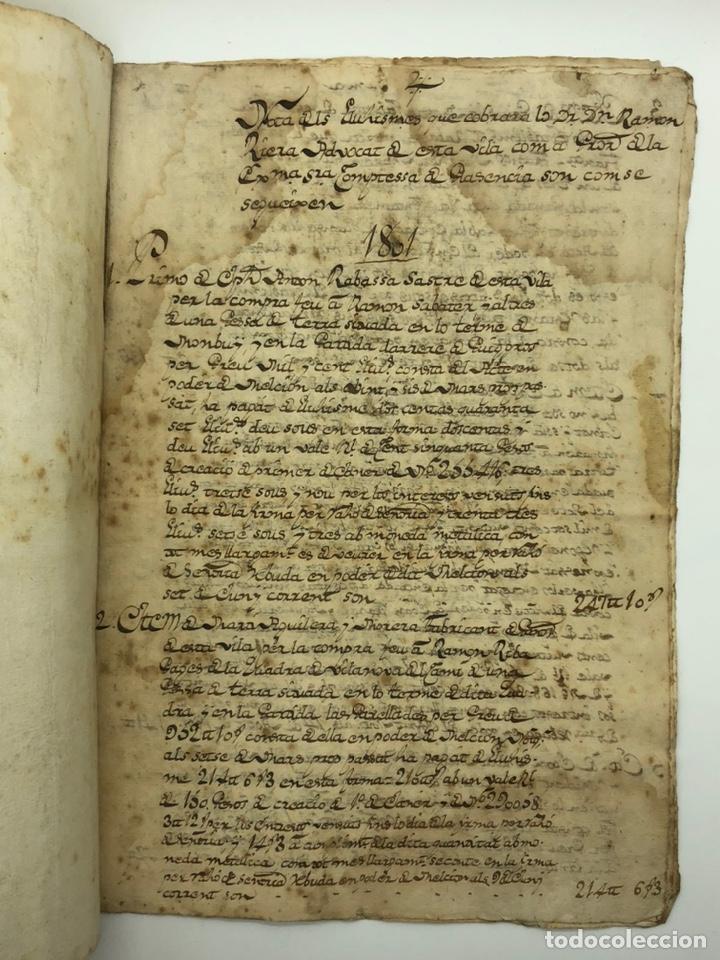 DOCUMENTO MANUSCRITO COMPRA-VENTA AÑO 1801 (Coleccionismo - Documentos - Manuscritos)