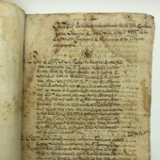 Manuscritos antiguos: DOCUMENTO MANUSCRITO COMPRA-VENTA AÑO 1801. Lote 200073278
