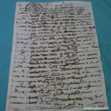 Manuscritos antiguos: ESCRITURA EN CATALÁN DE 1816.1 HOJAS.FERNANDO VII.. Lote 200158673