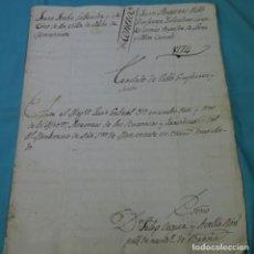Manuscritos antiguos: MANUSCRITO EN CATALÁN DE 1774.10 HOJAS.CARLOS III.OLESA DE MONTSERRAT.. Lote 200161617