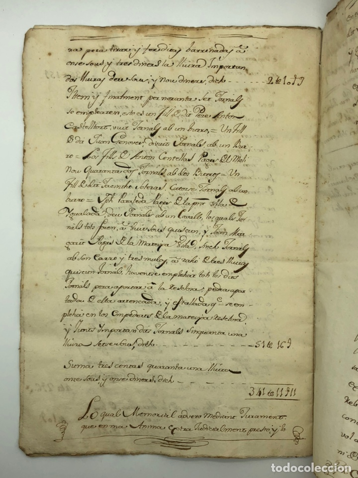 Manuscritos antiguos: Documento manuscrito sello fiscal año 1786 - Foto 10 - 200185896