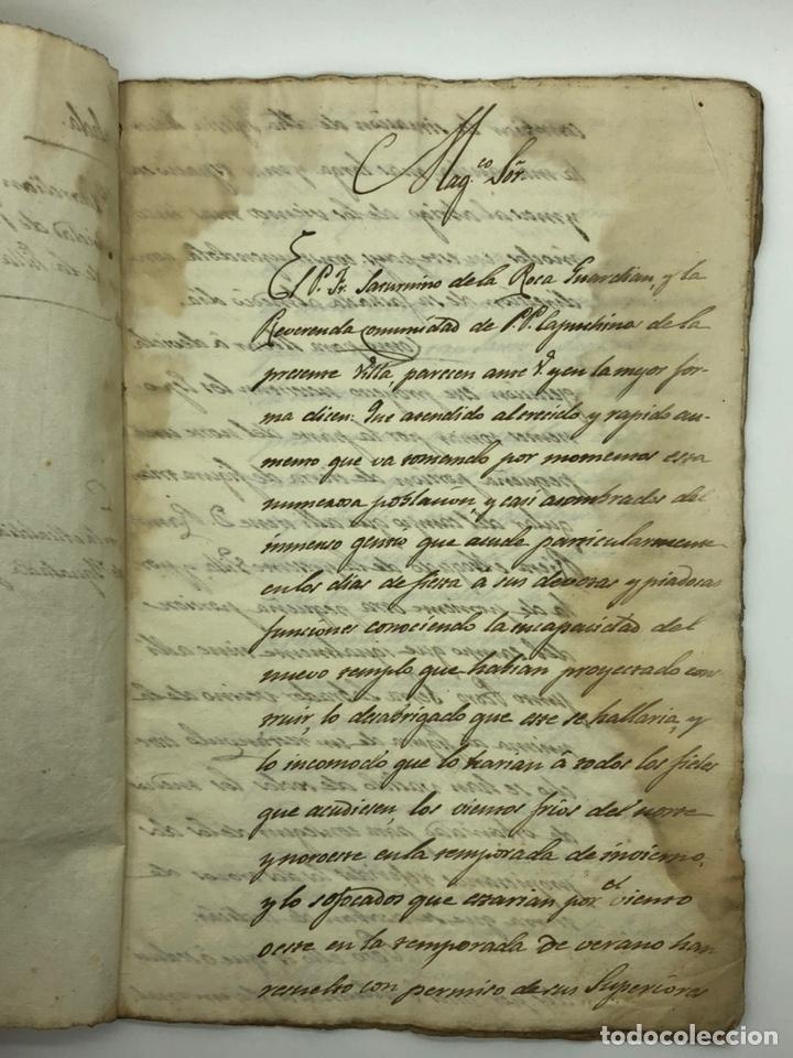 Manuscritos antiguos: Documento manuscrito caso judicial Igualada ano 1831 - Foto 2 - 200186453