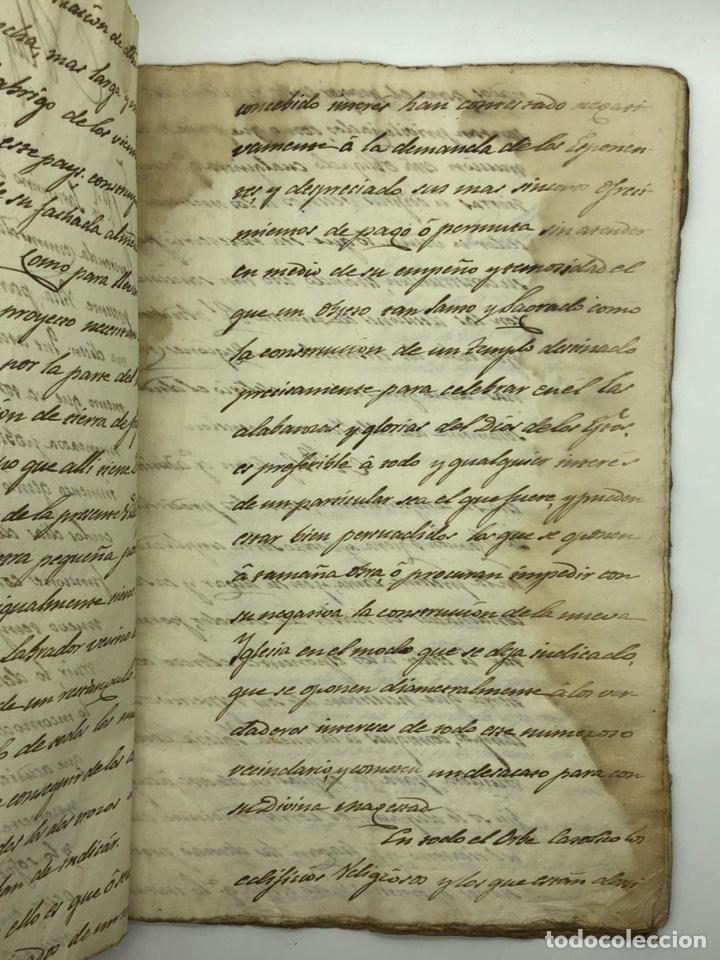 Manuscritos antiguos: Documento manuscrito caso judicial Igualada ano 1831 - Foto 3 - 200186453