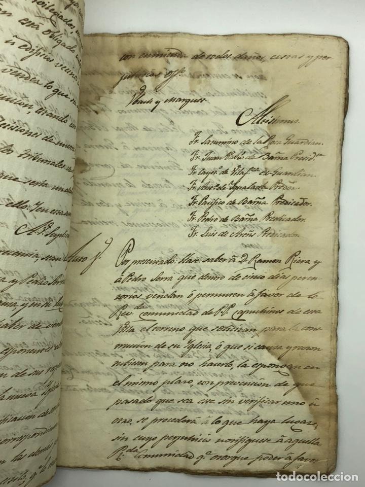 Manuscritos antiguos: Documento manuscrito caso judicial Igualada ano 1831 - Foto 4 - 200186453
