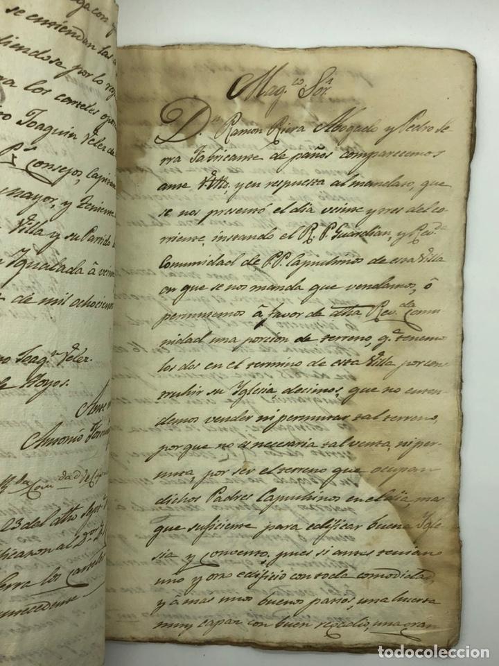 Manuscritos antiguos: Documento manuscrito caso judicial Igualada ano 1831 - Foto 5 - 200186453