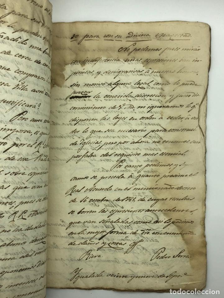 Manuscritos antiguos: Documento manuscrito caso judicial Igualada ano 1831 - Foto 6 - 200186453