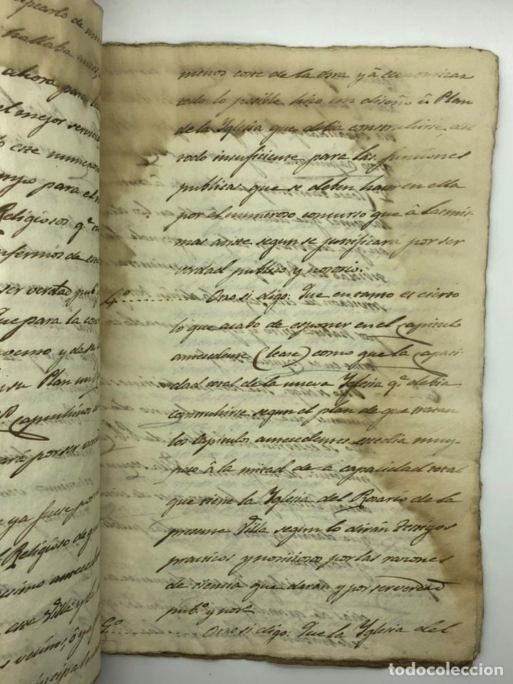 Manuscritos antiguos: Documento manuscrito caso judicial Igualada ano 1831 - Foto 8 - 200186453