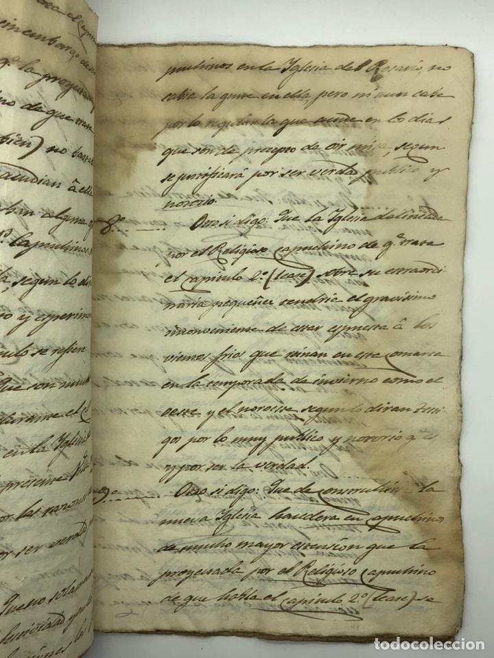 Manuscritos antiguos: Documento manuscrito caso judicial Igualada ano 1831 - Foto 9 - 200186453