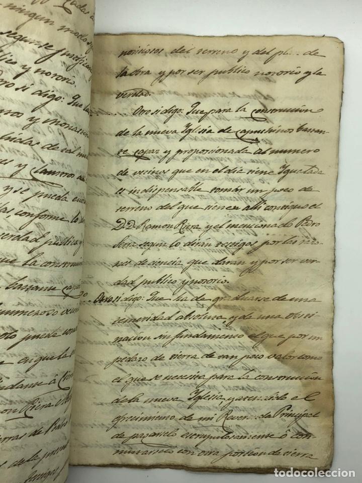 Manuscritos antiguos: Documento manuscrito caso judicial Igualada ano 1831 - Foto 11 - 200186453
