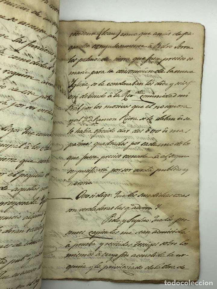Manuscritos antiguos: Documento manuscrito caso judicial Igualada ano 1831 - Foto 12 - 200186453