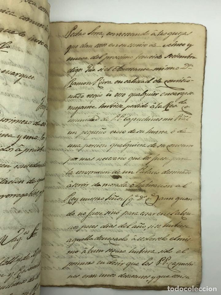 Manuscritos antiguos: Documento manuscrito caso judicial Igualada ano 1831 - Foto 13 - 200186453