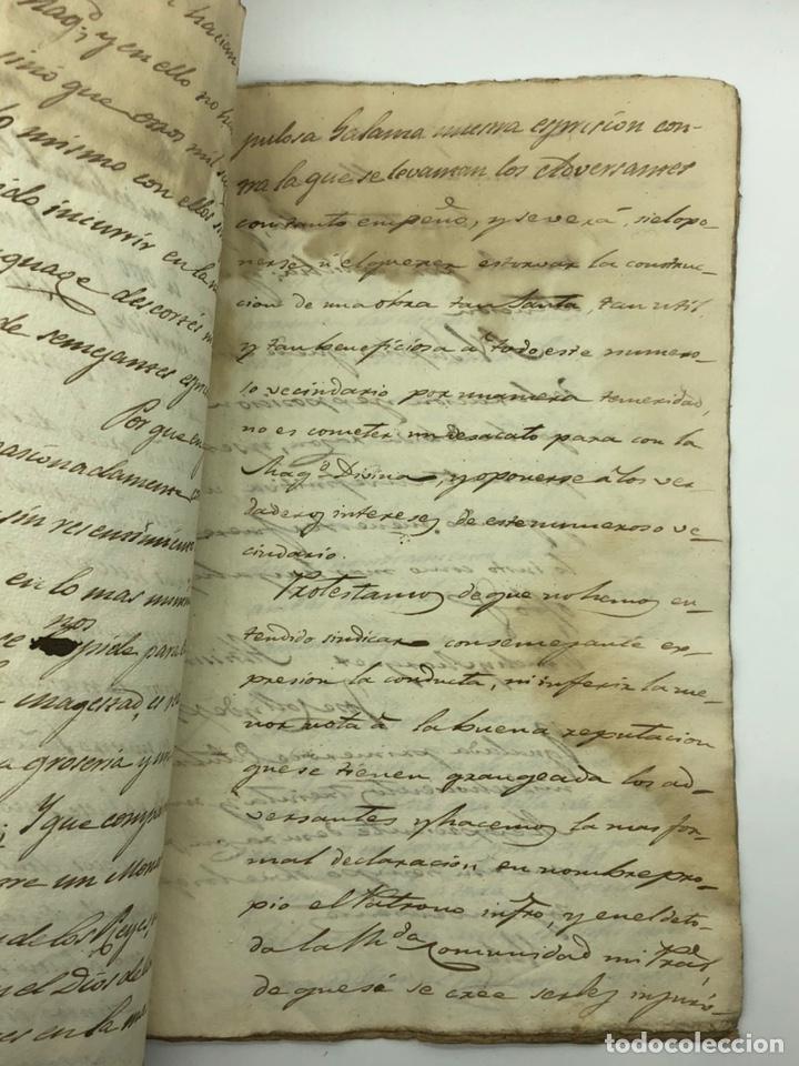 Manuscritos antiguos: Documento manuscrito caso judicial Igualada ano 1831 - Foto 14 - 200186453