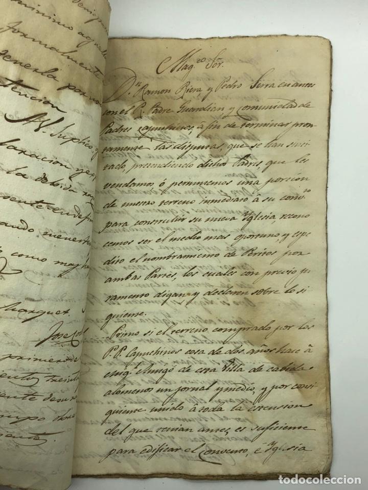 Manuscritos antiguos: Documento manuscrito caso judicial Igualada ano 1831 - Foto 15 - 200186453