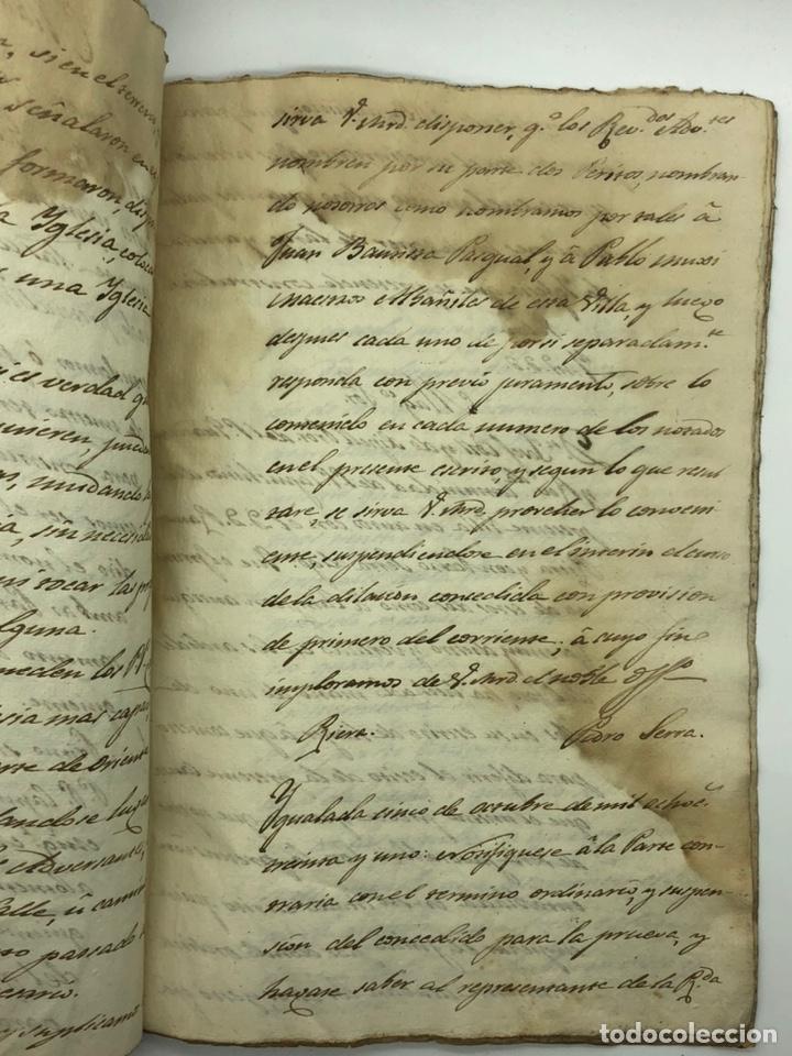 Manuscritos antiguos: Documento manuscrito caso judicial Igualada ano 1831 - Foto 16 - 200186453