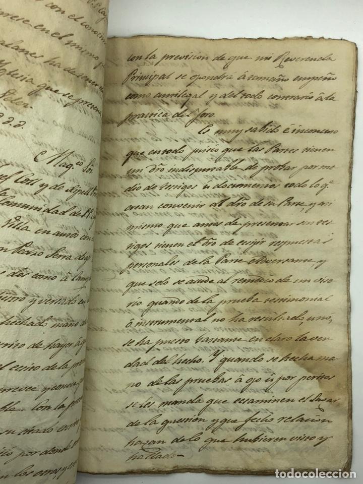 Manuscritos antiguos: Documento manuscrito caso judicial Igualada ano 1831 - Foto 17 - 200186453