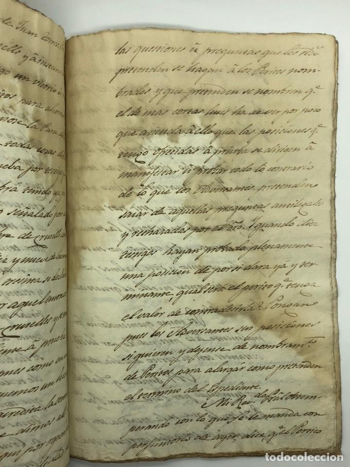 Manuscritos antiguos: Documento manuscrito caso judicial Igualada ano 1831 - Foto 19 - 200186453