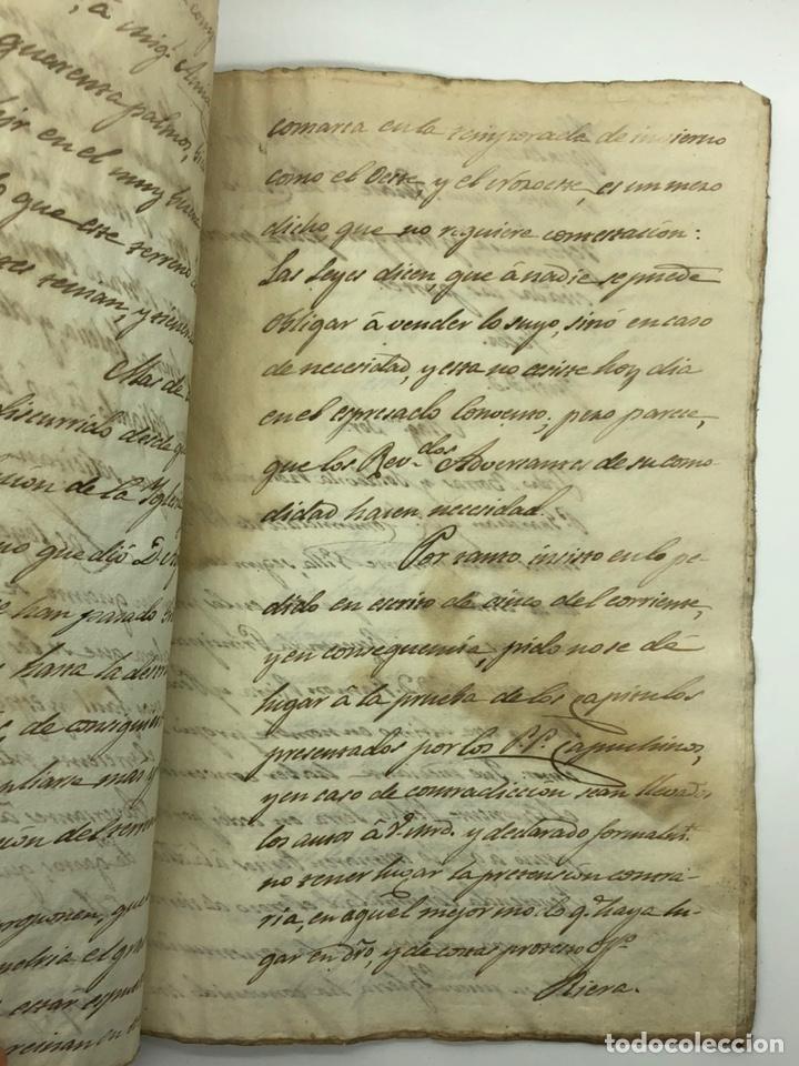 Manuscritos antiguos: Documento manuscrito caso judicial Igualada ano 1831 - Foto 22 - 200186453