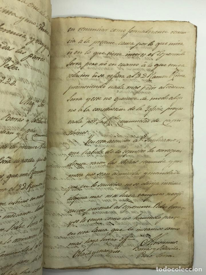 Manuscritos antiguos: Documento manuscrito caso judicial Igualada ano 1831 - Foto 23 - 200186453