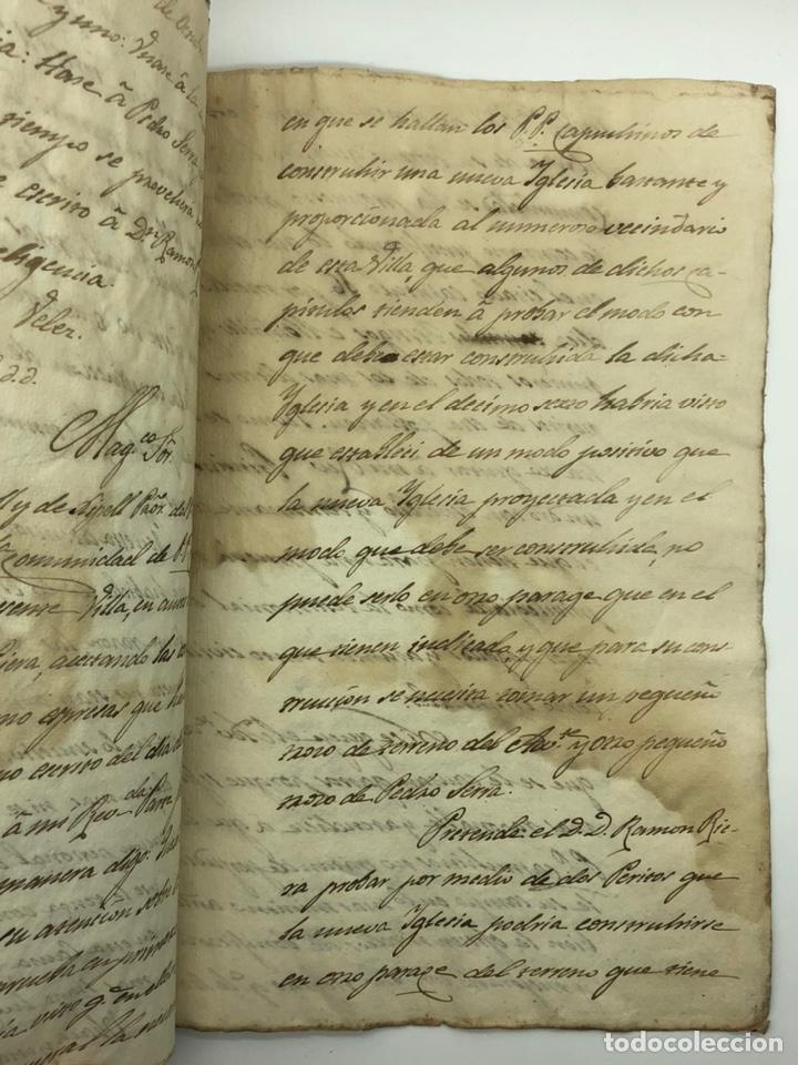 Manuscritos antiguos: Documento manuscrito caso judicial Igualada ano 1831 - Foto 24 - 200186453