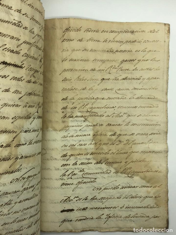 Manuscritos antiguos: Documento manuscrito caso judicial Igualada ano 1831 - Foto 25 - 200186453
