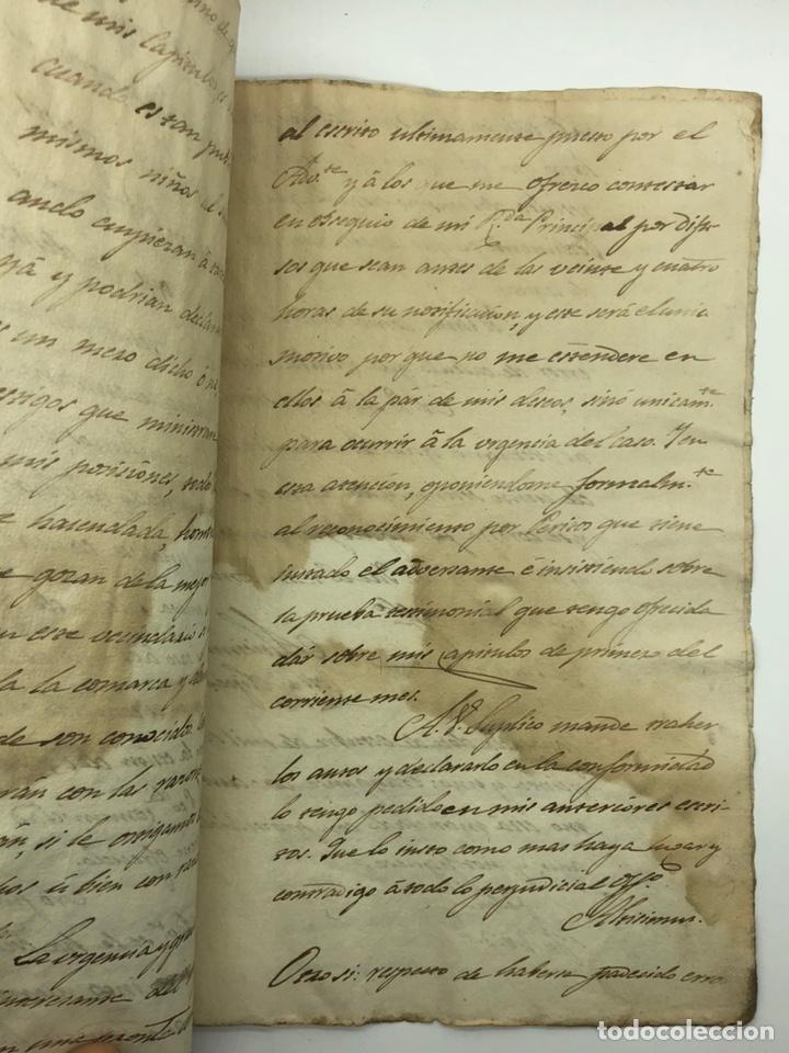 Manuscritos antiguos: Documento manuscrito caso judicial Igualada ano 1831 - Foto 26 - 200186453