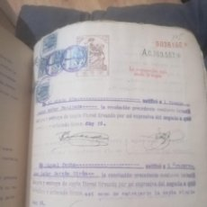 Manuscritos antiguos: LEGAJO ANTIGUO. Lote 200274221